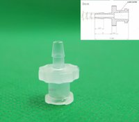 Wholesale female inch barb Luer Taper Fitting polyprop Luer Lock Syringe Fitting Connectors