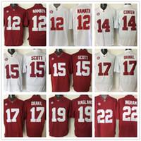 alabama football jerseys - Alabama Crimson Tide Jersey Ncaa College Joe Namath Jake Coker JK Scott Kenyan Drake Reggie Ragland Mark Ingram Eddie Lacy