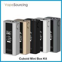 Wholesale Joyetech Cuboid Mini w Box kit mah Temperature Control Mod fit Joytech Cuboid Mini Atomizer Original