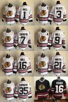 Wholesale 2016 Chicago Blackhawks Esposito mikita hull hull Esposito pilote hall kruger White black Ice Hockey Jerseys