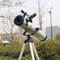 Wholesale 1 Set Large Aperture Times Zooming Reflective Astronomical Telescope for Space Celestial Heavenly Body Observation F76700