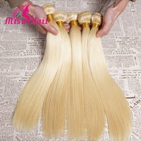 russian hair weave - 7A Blonde Weave Unprocessed European Blonde Straight Human Hair Extensions Platinum Blonde Hair Extensions Russian Blonde Hair
