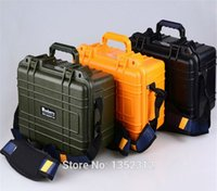 Wholesale mm ABS protection material Plastic sealed waterproof safety equipment case IP68 degree safety portable tool box