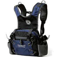 Le sport bleu paquets de plein air Avis-Sac à dos sac de taille foncé qualité bleu Waistbag sac à dos cas Pentagram Outdoor Pack Sport journée Designer de la hanche