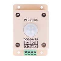 Wholesale IR Infrared Module Body Sensor Switch Intelligent Light Lamps Motion Sensing Switch DC to V Security Energy Saving