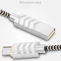 apple zinc - JOYROOM Lightning Cable Zinc alloy braided Fast Charging USB Data Cable For Iphone S plus