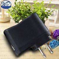 Wholesale Factory price black color us eu plug usb wall charger v mah high quality portable usb charging adapter for Ecig mp3 mp4 universal charge