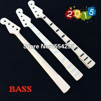 Wholesale DIY Bass Guitar Neck Bass Neck Maple Neck
