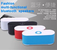 big red card - AAA Quality New Bluetooth Speaker Speakers Portable Wireless Speakers Bulit in Mic Handsfree Support TF USB AUX Big Sound Speaker S207