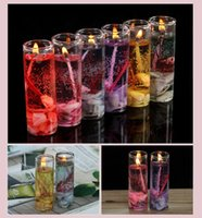 Wholesale CHEAPEST Valentine s day CANDLES Crystal jelly candles pillar Candles cup Wax candles decorate Festival holiday Christmas GIFT