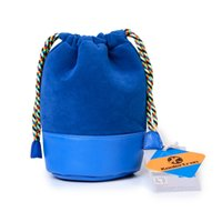 Wholesale 7x4 quot x12cm DSLR Camera Soft PU Leather Suede Cord Drawstring Thick Protective Lens Pouch Bags Cover for Sony Canon Nikon