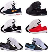 best tennis shoe - new SB Stefan Janoski Max Men Running Shoes Cheap Best Tennis Brand Sports Running Skateboard Trainers Breathable Jogging Shoe Eur