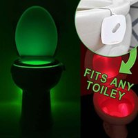 Wholesale LED Human Motion Activated PIR Light Sensor Toilet Lamp LED Night Light motion activated light light motion