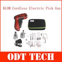 Wholesale New KLOM Rechargeable Cordless Electric Pick Gun Auto LockSmith Lock Pick Tool Best Quality