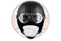 Wholesale New Scooter Half Vespa Motorcycle Helmet Motorcycle Goggles