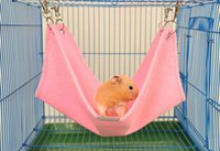 Wholesale Winte Plush Materia Hamster Hammock Suit For Rats House Habitats Hutches Or Storage Box Cage Warm Pet Cushion Size Mix Color