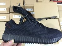 Cheap Adidas Originals YEEZY BOOST 350 Running Shoes Trainers Shoes Sports Yeezy 350 Sport Shoes Men Women Shoes Pirate Black With Original Box