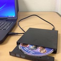 Wholesale Hot Ultral Thin USB Load Optical CD RW DVD Player Drive Burner for PC Macest