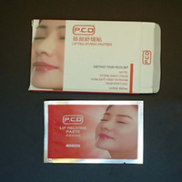 Wholesale Convenient Topical anesthetic Lip paste for Before Lip Tattoo fast painless Lip pain relieving numbing patch