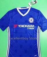 Wholesale DHL shipping Best thailand quality chelsea club player version soccer Shirts FABREGAS HAZARD DIEGO COSTA DROGBA soccer shirts