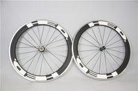 Wholesale 2016 clincher bicycle Carbon Alloy wheels c carbon fiber road bike racing wheelset