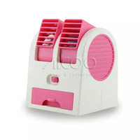 air condition fans - Colorful USB Hand held Mini Cool Fan with two outlet Air Conditioning with fragrance ice slot