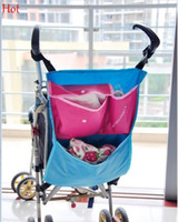 baby pram - Baby Stroller Bag Pram Accessories Pocket Carriages Organizer Tidy Bag Attaches To Stroller Toys Storage Holder