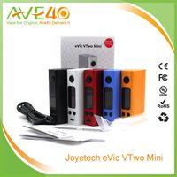 Precio de Evic joytech-EVIC original de JOYTECH VTwo Mini 75W TC cuadro de la MOD con Firmware actualizable Nueva Joyetech EVIC VTC Temperatura mod control Ecigarette Mods VS EVIC vt
