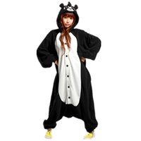 adult squirrel costume - New Adult Animal skunk fox squirrel mephitine Cosplay Pajamas Onesie Sleepwear Costume Cartoon Animals jumpsuit Free Ship