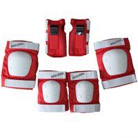 Wholesale 1 Set Sport Ski Roller Derby Guard Crash Pad Elbow Knee Protector for Inline Skating Snowboard
