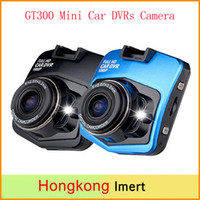 Wholesale car dvd new Novatek Dash Cam GT300 Mini Car DVRs Camera Full HD P Recorder Video Registrar Night Vision Black Box Carcam DVR