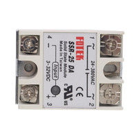 Wholesale TaiWan FOTEK Solid State Relay SSR DA DA A actually V DC TO V AC SSR DA relay solid state