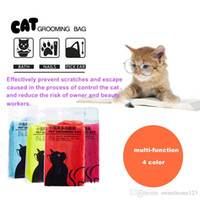 bath application - Multifunctional cat grooming bag cat bath bags Application by nails bath pick ear take an injection and feeding medicine