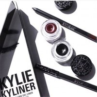 Wholesale BRAND NEW Kylie Cosmetics By Kylie Jenner Kyliner In Black Brown with Eyeliner Gel pot Brush from uprise