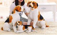 beagles for free - artificial beagle just like real doggy cute lovely gift plush dog no mess good dog all sizes for kids adults soft