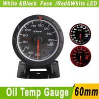 advance auto oil - Oil Temp Gauge MM D FI Advance CR Oil Temperature Gauges With Sensor White Black Face Car Meter d fi Auto Gauge Tachometer