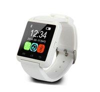 Precio de Relojes de pulsera piezas-Bluetooth Smartwatch U8 reloj Smart Watch relojes para el iPhone 5 5S Samsung S4 S5 Nota 2 Nota 3 HTC de una pieza