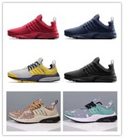 camo fabric - With Box Cheap Air Presto Unholy Cumulus all black red men running shoes all blue retro lighting camo Sports shoes Sneakers Eur