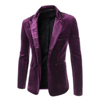 Wholesale Terno Masculino Special Offer Regular Cotton Fashion Casual Buckle Mens Blazers Blazer Tops Suit Coat Size xl us L Zx52