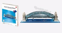 australia paper - Kids Toys D Puzzle Beneficial to wisdom Harbor Bridge Australia DIY Jigsaw Puzzle Educational Toys Paper Model