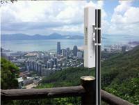 al por mayor amplificador de señal wifi al aire libre-COMFAST CF-E312A 300mbps 5.8Ghz red inalámbrica ap red puente repetidor al aire libre Wifi CPE / señal amplificador 6 km