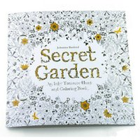 Wholesale Secret Garden Fantasy Dream Enchanted Forest Animal Kingdom Pages Coloring Book Adult Relieve Stress Painting Book Drawing Book DHL free