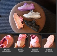 led point - LED baby shoes lace yards kids fashion sneakers cheap summer autumn shoes student in stock pair B1