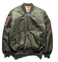 Wholesale KANYE WEST YEEZUS Jacket MA1 Bomber Jacket Pilot Jackets Hip Hop Sport Suit Parkas Windbreak Jacket Men Spring SMC0150