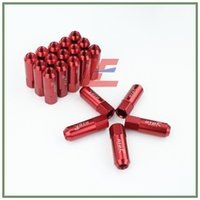 Wholesale Details about M12 X Wheel Nuts New OTO R mm Racing Wheel Nuts Screw red Aluminum