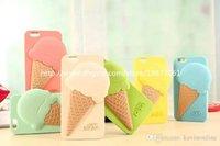 Compra Helados-For Iphone 6 Cases Helado de silicona para Apple Iphone 5s 6 + 4,7 pulgadas de 5,5 pulgadas 50 piezas DHL