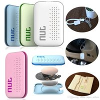 Wholesale Arrival Nut mini Smart Tag Bluetooth Tracker Child Bag Wallet Key Finder for iOS for Android Locator Alarm Colors
