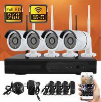 Wholesale Wireless Surveillance System P Wireless Camera and Wireless NVR VGA HDMI RJ45 Port and Smart Phone Monitor