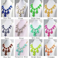 bid quality - Big Bubble Bid Statement Fashion Pendant Factory Prices High Quality Necklace Pretty Hot Selling Jewelry
