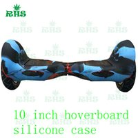 beautiful balance - 10 inch hoverboard balance scooter beautiful perfact match silicone case skin cover with colros for chose